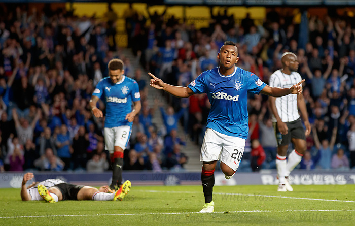 Alfredo Morelos makes it 6-0 to Rangers