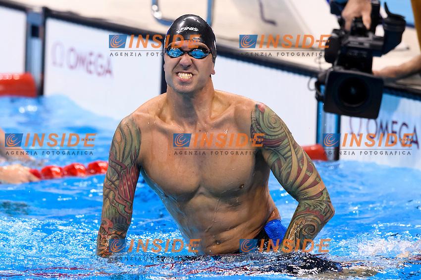 ERVIN Anthony USA Gold Medal <br /> Men's 50m Freestyle <br /> Rio de Janeiro 12-08-2016 Olympic Aquatics Stadium <br /> Swimming Nuoto <br /> Foto Andrea Staccioli/Deepbluemedia/Insidefoto