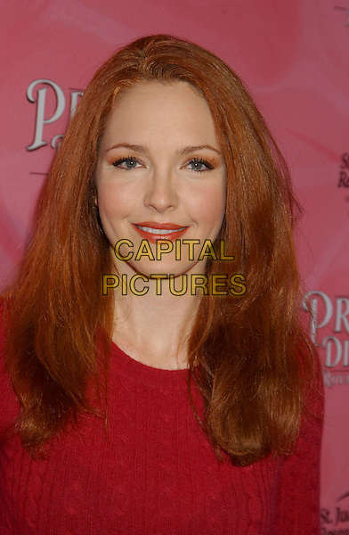 AMY YASBECK.The Princess Diaries 2 DVD Pajama Ball benefiting St. Jude Children's Research Hospital held at the Beverly Hilton Hotel, Beverly Hills, California, USA, .8th December 2004..portrait headshot.Ref: ADM.www.capitalpictures.com.sales@capitalpictures.com.©L.Farr/AdMedia/Capital Pictures .