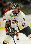 14 November 2008: University of Vermont Catamount forward Colin Vock, a Junior from Detroit, MI, in action against the Northeastern University Huskies at Gutterson Fieldhouse in Burlington, Vermont. The Catamounts fell to the Huskies 5-3...Mandatory Photo Credit: Ed Wolfstein Photo