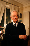 Michael Edwards, professor of English and French literature in Paris. He is a candidate for the Academie Francaise, February 2008. If he wins this, he will the first ever English person to hold this title.///Portrait of Professor Michael Edwards