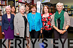 Writers and readers Collette Nunan Kenny, Sonia Elston, Mary Johnson, Victoria Kennefick, Carol Griffin and Sharon Fitzpatrick with Dingle Bookshop co-owner Camilla Dinkel at the Kerry Women Writers Network tour in Dingle on Thursday evening.