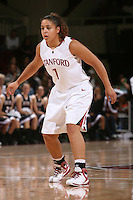 STANFORD, CA - NOVEMBER 1:  Grace Mashore of the Stanford Cardinal during Stanford's 123-39 exhibition win against Chico State on November 1, 2008 at Maples Pavilion in Stanford, California.