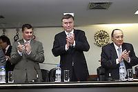 SAO PAULO,SP, 02 JANEIRO 2013 - POSSE NOVO PRESIDENTE DA OAB SP - Marcos da Costa,  o novo presidente da OAB SP para o trienio 2013/2015, tomou posse na tarde dessa quarta-feira, 02, na ocasiao também foi empossada a nova Diretoria e o Conselho Seccional, alem  da Diretoria da Caixa de Assitencia dos Advogados de Sao Paulo(Caasp), na sede da OAB, zona central da capital - FOTO: LOLA OLIVEIRA/BRAZIL PHOTO PRESS