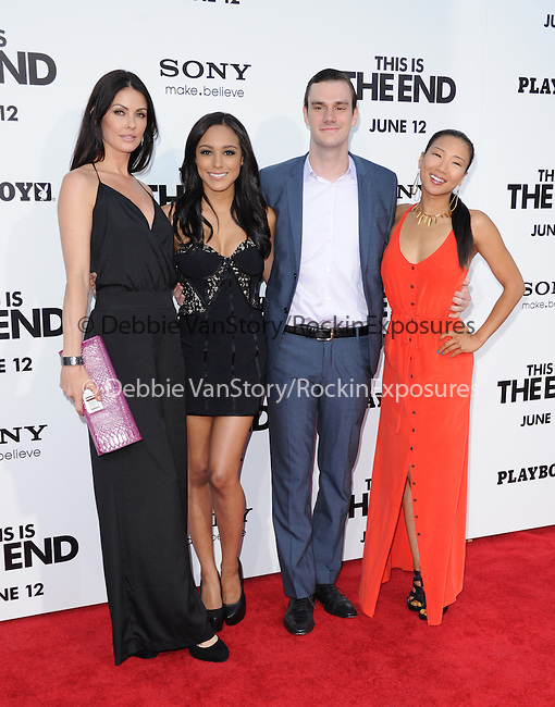 Cooper Hefner at Columbia Pictures' World Premiere of This is the End Premiere held at The Regency Village Theatre in Westwood, California on June 03,2013                                                                   Copyright 2013 Hollywood Press Agency