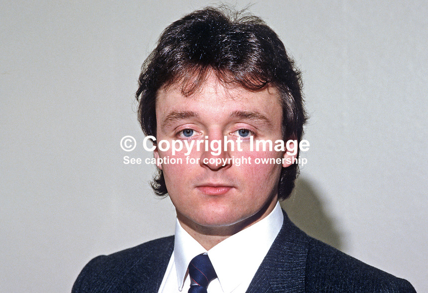 Stewart Beattie, spokesman, N Ireland Licensed Trade, 19850027SB. Later qualified as barrister and then as a Queen's Counsel, QC.<br />