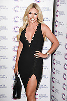 Frankie Essex arriving at James Ingham&rsquo;s Jog On to Cancer, in aid of Cancer Research UK at The Roof Gardens in Kensington, London.  <br /> 12 April  2017<br /> Picture: Steve Vas/Featureflash/SilverHub 0208 004 5359 sales@silverhubmedia.com