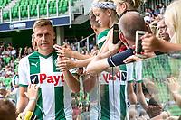 GRONINGEN - Voetbal, Opendag FC Groningen, seizoen 2018-2019, 05-08-2018, FC Groningen speler Ruben Y Jenssen