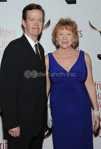 NEW YORK, NY - FEBRUARY 19:  Dylan Baker and Becky Ann Baker attends the 69th Annual Writers Guild Awards New York ceremony at Edison Ballroom on February 19, 2017 in New York City. Photo by: John Palmer/ MediaPunch