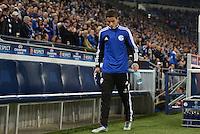FUSSBALL   CHAMPIONS LEAGUE   SAISON 2012/2013   GRUPPENPHASE   FC Schalke 04 - Montpellier HSC                                   03.10.2012 Ibrahim Afellay (FC Schalke 04) auf dem Weg zur Ersatzbank