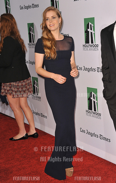 Amy Adams at the 16th Annual Hollywood Film Awards at the Beverly Hilton Hotel..October 22, 2012  Beverly Hills, CA.Picture: Paul Smith / Featureflash