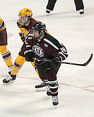 Tom Serratorre (MN - 14), Kevin Sullivan (Union - 16) - The Union College Dutchmen defeated the University of Minnesota Golden Gophers 7-4 to win the 2014 NCAA D1 men's national championship on Saturday, April 12, 2014, at the Wells Fargo Center in Philadelphia, Pennsylvania.