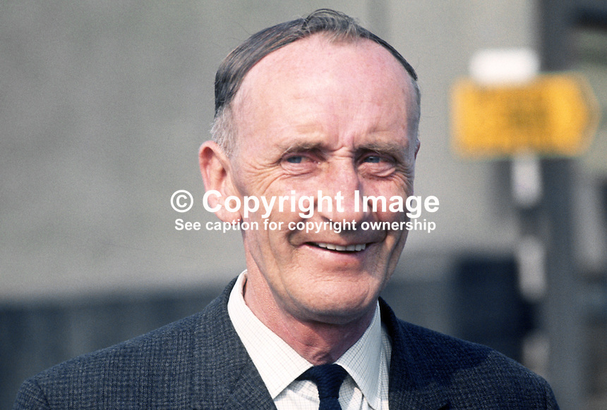 Hugh Golding, Unity Candidate, South Down, N Ireland, 1970 UK General Election, 197006000192.<br />