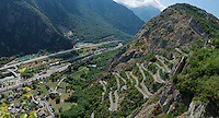 up the Lacets de Montvernier (2C/782m/3.4km, 8.2%)<br /> <br /> stage 18: Gap - St-Jean-de-Maurienne (187km)<br /> 2015 Tour de France