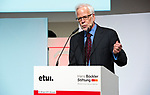 "Brussels-Belgium - April 27, 2017 -- European Dialogue 2017 'EUROPE: REWRITE THE RULES FOR SHARED PROSPERITY', organized by Hans Boeckler Foundation in conjunction with the European Trade Union Institute / ETUI, at Albert Hall; here, Keynote speech ""Opportunities and hazards of prosperity for all"" by Barry Eichengreen, Professor of Economics and Political Sciences, University of California, Berkeley -- Photo © HorstWagner.eu"