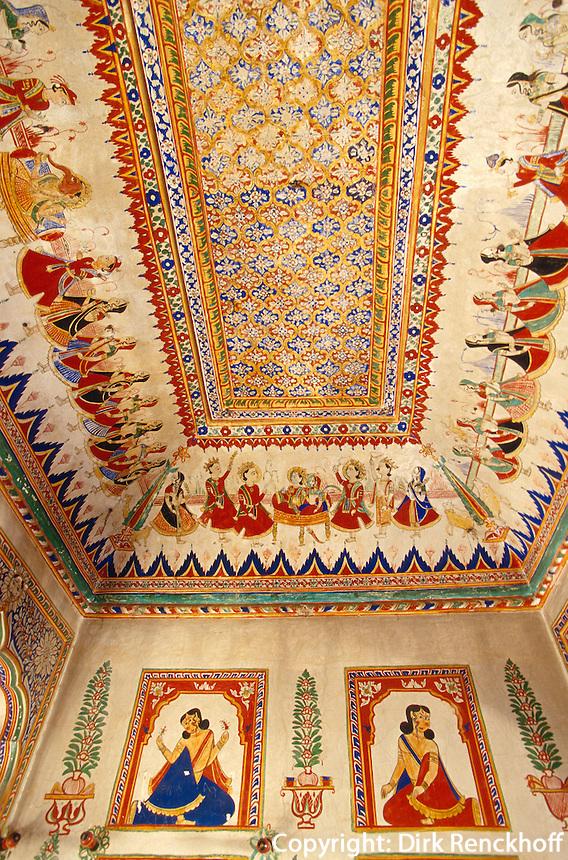 Motiram Jasraj Sigtia Haveli in  Bissau (Rajasthan), Indien