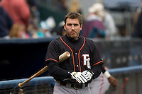 June 8, 2008: Fresno Grizzlies' Brian Bocock before the start of a Pacific Coast League game against the Tacoma Rainiers at Cheney Stadium in Tacoma, Washington.