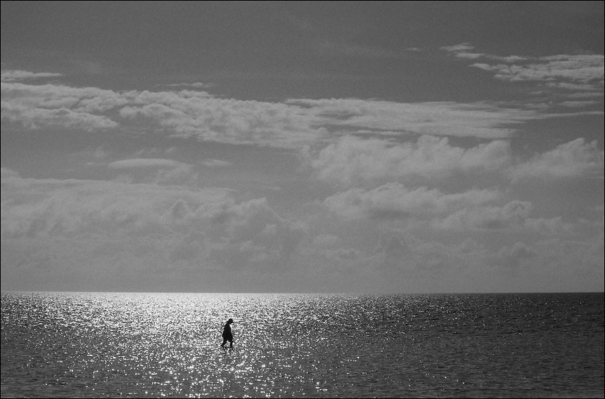 Alone<br /> From &quot;Miami in Black and White&quot; series. Miami, 2009