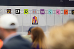 LOUISVILLE, KY - MAY 1: Bolt draws the 11 hole at Churchill Downs on May 1, 2018 in Louisville, Kentucky. (Photo by Eric Patterson/Eclipse Sportswire/Getty Images)