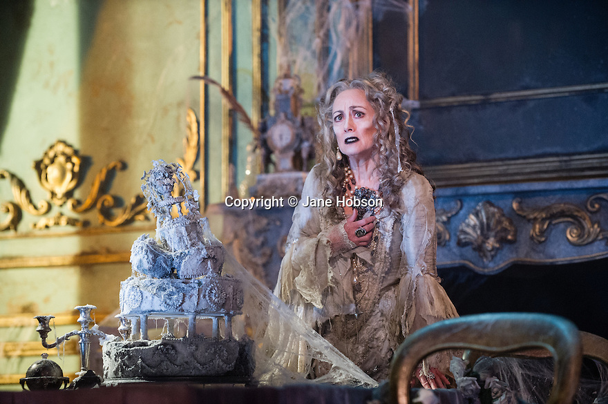 GREAT EXPECTATIONS opens at the Vaudeville Theatre. Directed by Graham McLaren, this is the first time there has been a production as a full-scale stage play either in the West End or Broadway. Picture shows: Paula Wilcox (Miss Havisham).