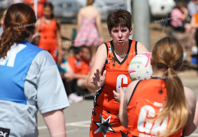 11/10/2015<br /> Netball Victoria State Titles 2015<br /> Bendigo Day 2<br /> Photo: Grant Treeby