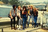 Guns N Roses ; Studio Session; <br /> Photo Credit: Michael Johansson /AtlasIcons.com