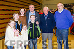 Count in Killarney l-r: Orla, Lola Rose, Gemma, Tracey, Leah, Richard and Richard Walsh, Lahard, Beaufort with JD O'Regan and Kevin Finn