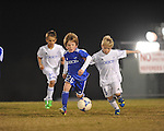 Lobos Azul vs. Lobos Rush Academy Nero at the Mike Rose Soccer Complex in Memphis, Tenn. on Monday, November 4, 2013. Lobos Rush Academy Nero won 3-0.