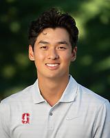 Stanford, Ca - September 2, 2019: Stanford Men's Golf Team 2019 portraits and team photo.