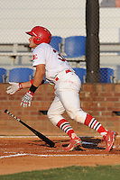 Johnson City Cardinals Travis Tartamella at Howard Johnson Field in Johnson City, Tennessee July 6, 2010.   Johnson City won the game 6-5.  Photo By Tony Farlow/Four Seam Images