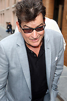 www.acepixs.com<br /> <br /> January 12 2017, New York City<br /> <br /> Actor Charlie Sheen made an appearance at The View on January 12 2017 in New York City<br /> <br /> By Line: Zelig Shaul/ACE Pictures<br /> <br /> <br /> ACE Pictures Inc<br /> Tel: 6467670430<br /> Email: info@acepixs.com<br /> www.acepixs.com