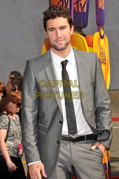 BRODY JENNER.18th Annual MTV Movie Awards - Arrivals held at the Universal Gibson Amphitheater, Universal City, CA, USA..May 31st, 2009.half length black suit jacket toe white shirt .CAP/ADM/BP.©Byron Purvis/AdMedia/Capital Pictures.