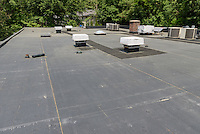 Roof Replacement For Lower Fairfield Center 148 Silvermine Avenue Norwalk, CT<br /> Connecticut State Project No: BI-NN-673<br /> Architect: Kenneth Boroson Architects, LLC  Contractor: Greenwood Industries, Inc<br /> James R Anderson Photography New Haven CT photog.com<br /> Date of Photograph: 2 June 2016<br /> Camera View: 15 - Building 2
