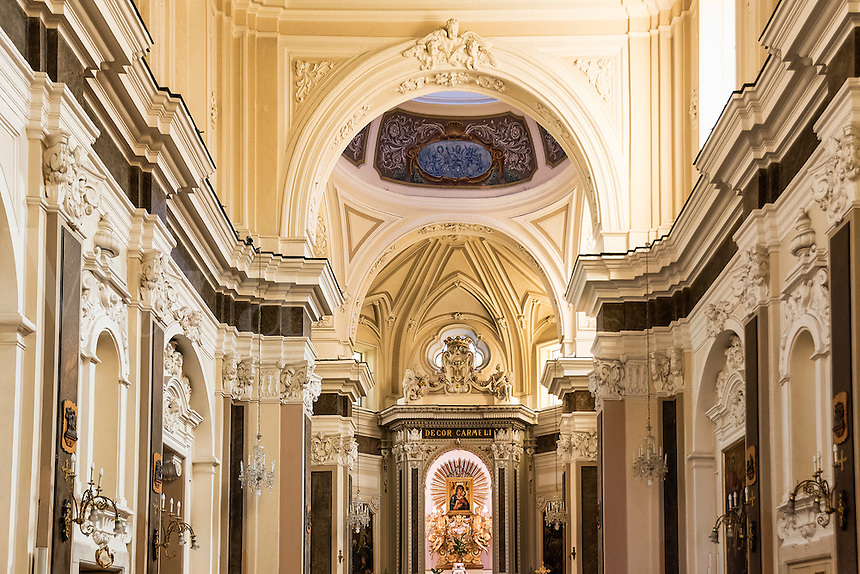 The sanctuary of the Madonna del Carmine, Sorrento, Italy