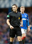 Rangers v St Johnstone&hellip;16.02.19&hellip;   Ibrox    SPFL<br />Referee Steven McLean<br />Picture by Graeme Hart. <br />Copyright Perthshire Picture Agency<br />Tel: 01738 623350  Mobile: 07990 594431