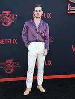 "28 June 2019 - Santa Monica, California - Dacre Montgomery. ""Stranger Things 3"" LA Premiere held at Santa Monica High School. <br /> CAP/ADM/BT<br /> ©BT/ADM/Capital Pictures"