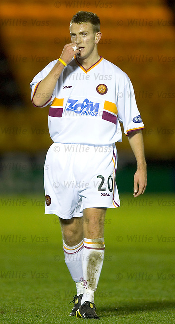 Kenny Wright, Motherwell.stock season 2004-2005.pic willie vass