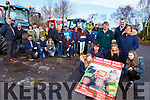 The family of the late John Teahan launch the Red Fox Tractor run in his memory which will be held in Red Fox Inn Glenbeighon Sunday 24th February front row l-r: Lucy Moriarty,Anthony Naughton, Chloe Teahan, Megan Moriarty. back row: James Foley, Eoghan O'Grady and Jenny Teahan