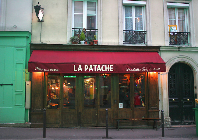 Exterior, La Patache Restaurant, Paris, France, Europe