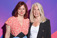 Clare Stewart and Amanda Nevill<br /> at the London Film Festival 2017 launch, Odeon Leicester Square London. <br /> <br /> <br /> ©Ash Knotek  D3302  31/08/2017