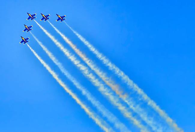 Blue Angels Diagonal