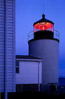 Bass Harbor Lighthouse, Mt Desert Island, Maine<br />