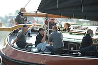 SKUTSJESILEN: WOUDSEND: SKS skûtsjesilen, 04-08-2011, Langweer, Schipper Ype van der Meulen, ©foto Martin de Jong