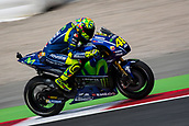 June 9th 2017, Circuit de Catalunya, Barcelona, Spain; Catalunya MotoGP; Friday Practice Session; Valentino Rossi of Movistar Yamaha MotoGP