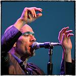 Michael Stipe of R.E.M. plays the San Diego Street Scene September 7, 2003