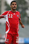 15 July 2007: Chicago's Willian Oliveira (BRA).  The United Soccer League Division 1 Carolina Railhawks defeated Major League Soccer's Chicago Fire 1-0 in a Third Round Lamar Hunt U.S. Open Cup game at SAS Stadium in Cary, North Carolina.
