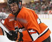 Joe Grabowski (Princeton - 27) - The Harvard University Crimson defeated the visiting Princeton University Tigers 5-0 on Harvard's senior night on Saturday, February 28, 2015, at Bright-Landry Hockey Center in Boston, Massachusetts.