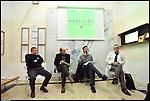 """""""I Martedì di Urban Center"""", dibattito nella sede dell'urban center dedicato alle realtà artistiche di Barriera di Milano. Invitati Gagliardi Art System, Barriera Arte in Torino, B.a.r.L.u.i.g.i. Nov 2012"""
