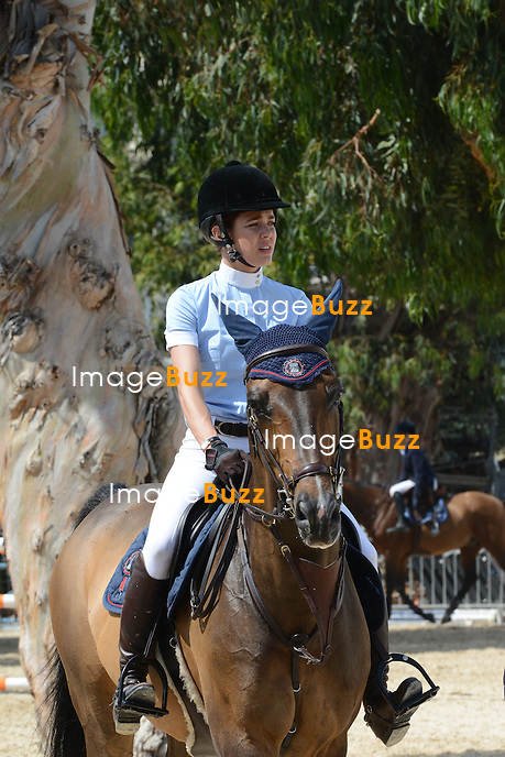 Charlotte Casiraghi at the Cannes Jumping 2012. .Cannes - France, June 14, 2012.