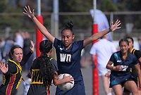 Action from the AIMS netball at Bay Park in Mount Maunganui, New Zealand on Thursday, 13 September 2018. Photo: Dave Lintott / lintottphoto.co.nz